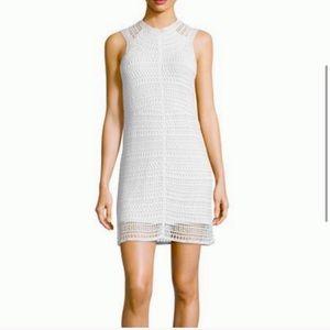 NWOT White Nirlee Crochet Theory Dress